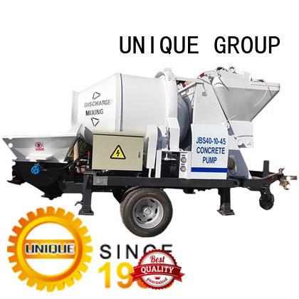 UNIQUE trailer concrete pump directly sale for railway tunnels