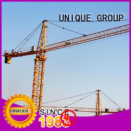 UNIQUE tower building crane supplier for hotels