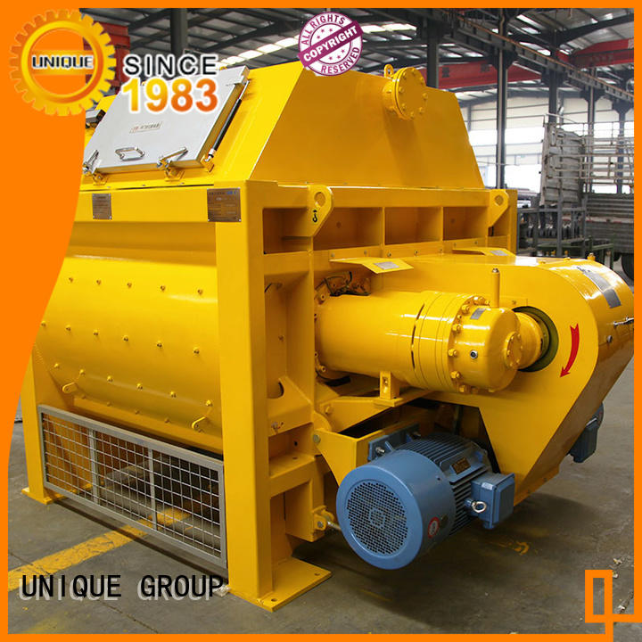 UNIQUE stronger twin shaft mixer supplier for project