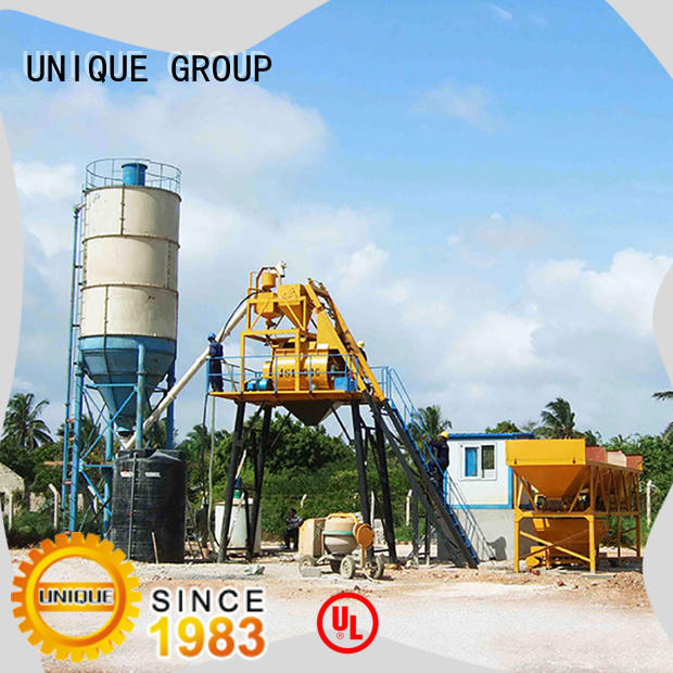 economical ready mix plant supplier for road