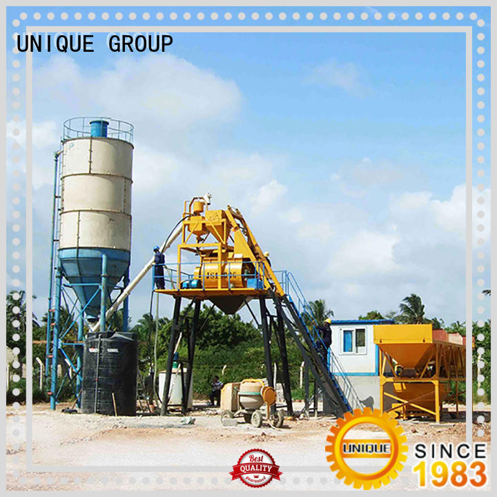 commercial mobile concrete plant mobile at discount for sea port