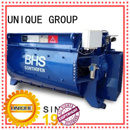stronger cement mixer machine twin with feeding system