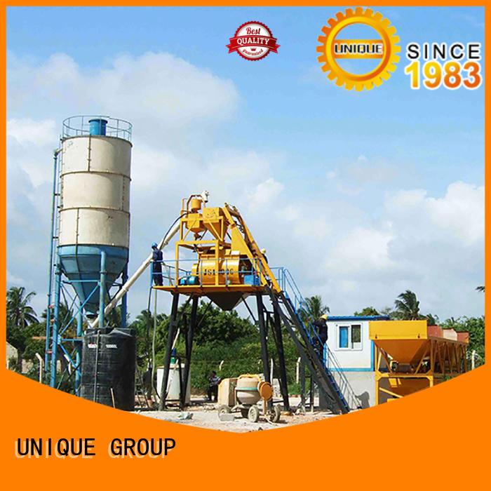 UNIQUE anti-interference concrete mixer manufacturers mix for air port