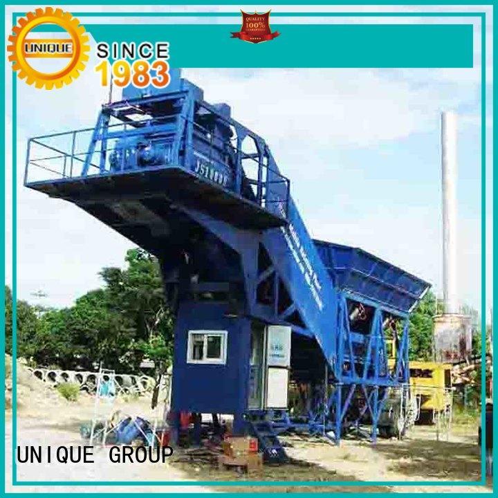 UNIQUE concrete batching plant at discount for sea port