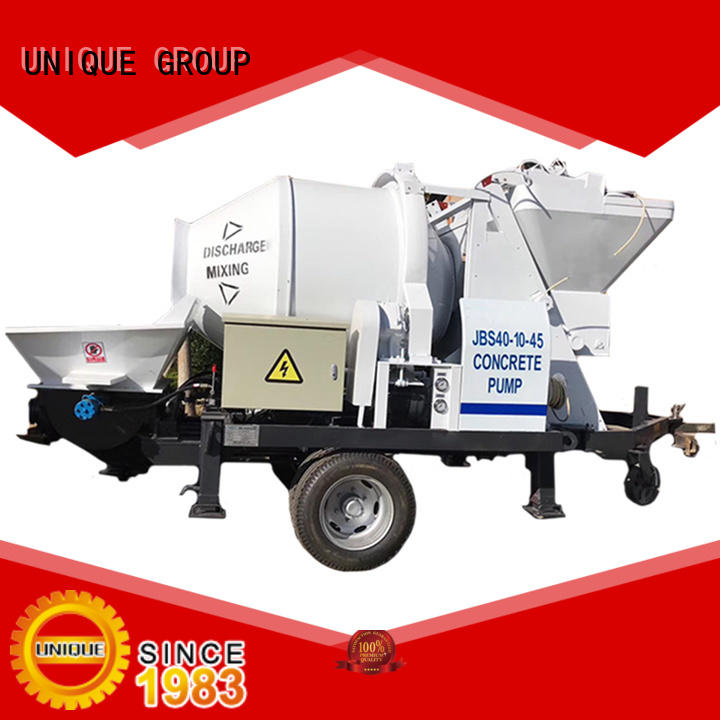UNIQUE stable concrete pumping equipment manufacturer for water conservancy