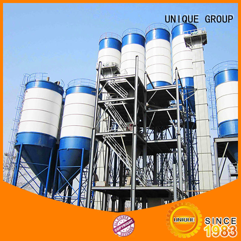 UNIQUE mix dry mix plant environmental protection for project