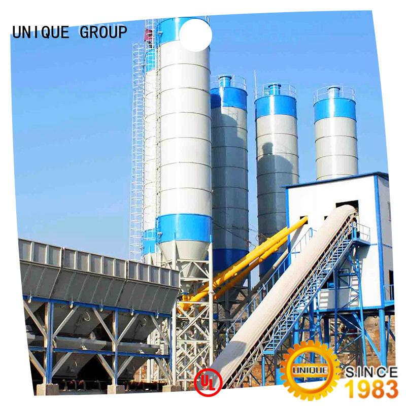 UNIQUE engineering mobile concrete plant promotion for air port