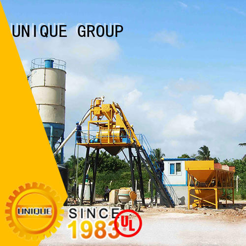 UNIQUE concrete plant equipment at discount for road