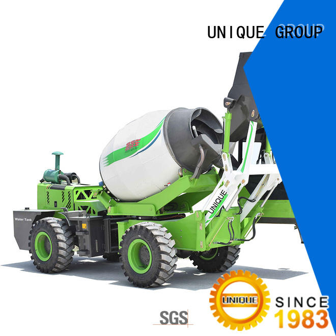 small volume concrete mixer truck metering for concrete production