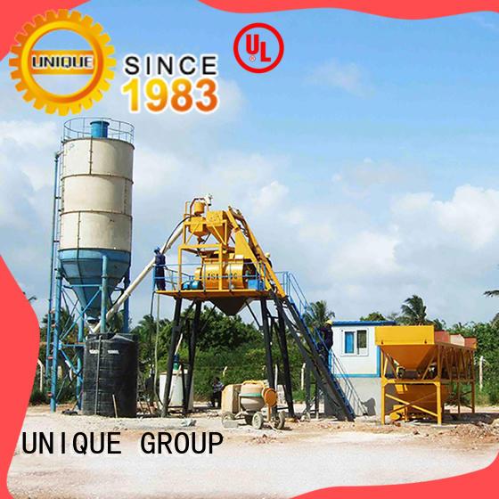 UNIQUE anti-interference concrete plant equipment supplier for bridges