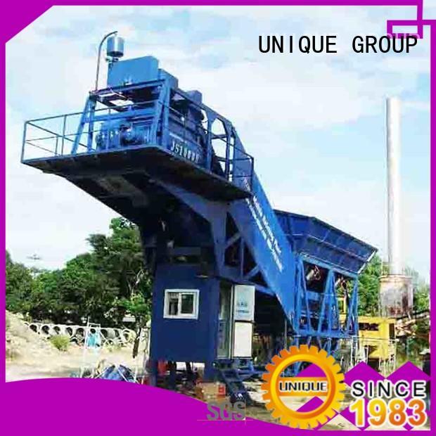 UNIQUE concrete batching mixer manufacturer for sea port