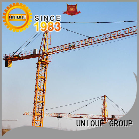 UNIQUE high efficiency stationary crane supplier for industrial buildings