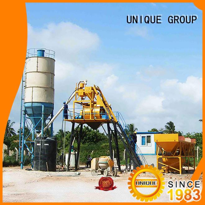 UNIQUE commercial concrete batching plant promotion for building