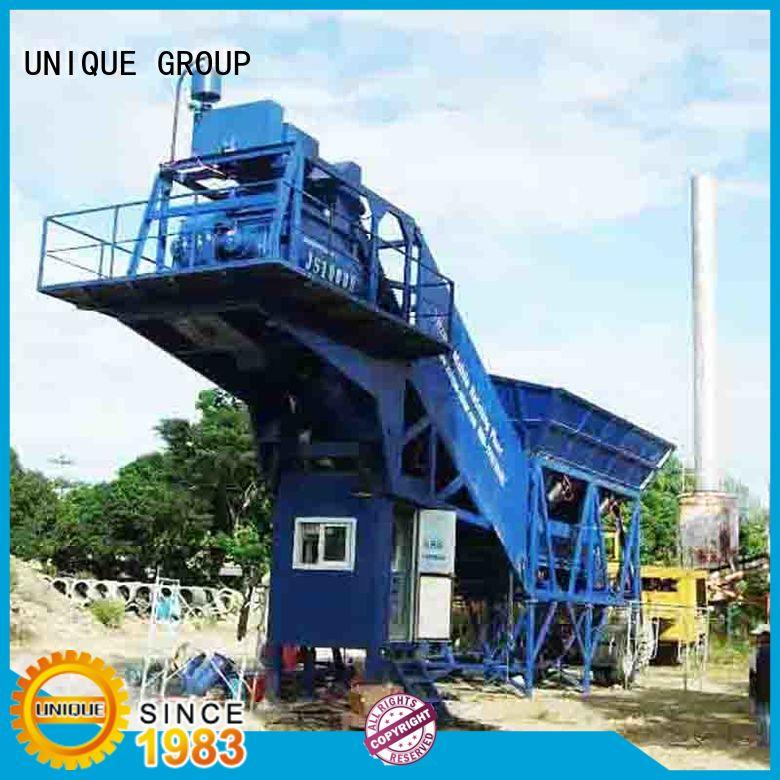 UNIQUE engineering batching plant at discount for road
