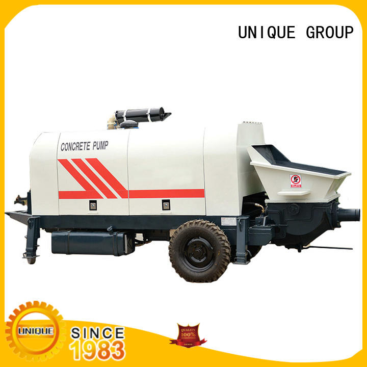 UNIQUE professional concrete mixer pump manufacturer for railway tunnels