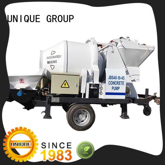 UNIQUE mature concrete pumping machine supplier for railway tunnels