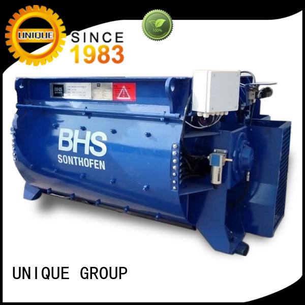 UNIQUE stronger sicoma mixer with water supply system for hard-dry concrete