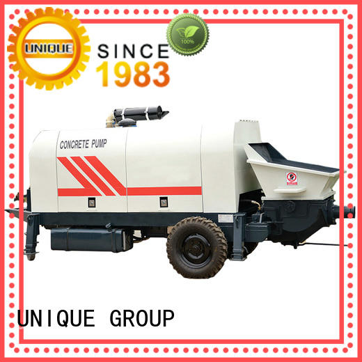UNIQUE concrete concrete pump machine supplier for hydropower engineering
