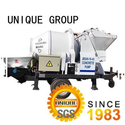 UNIQUE mixer concrete pumping equipment manufacturer for hydropower engineering