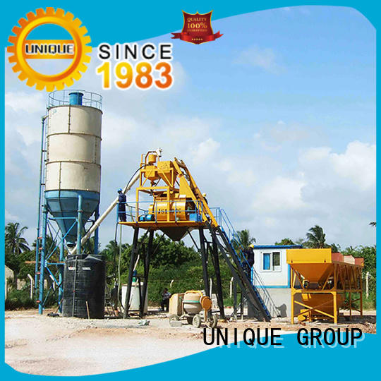 UNIQUE commercial concrete batching plant price promotion for sea port