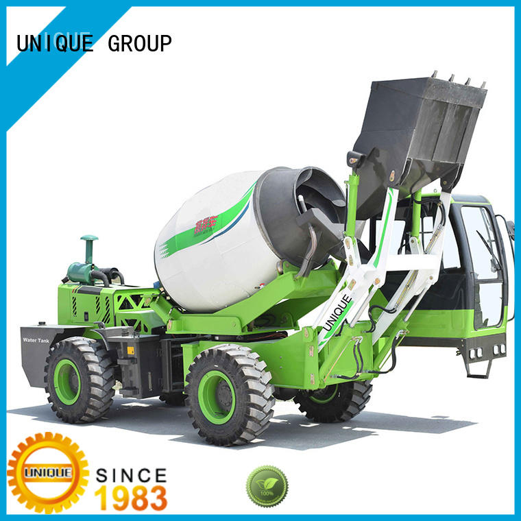 convenient concrete mixer truck mixer automatic feeding for construction site