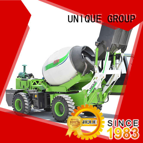 UNIQUE concrete self loading concrete mixer metering for construction site