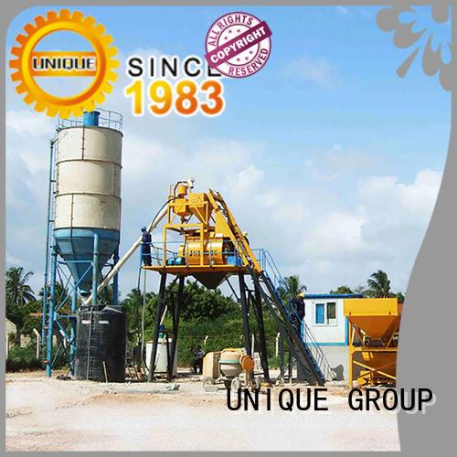 economical concrete batching plant mobile supplier for bridges