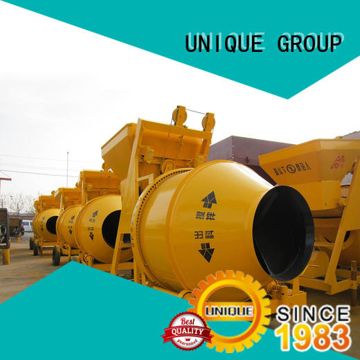 UNIQUE easy use concrete mixing equipment with water supply system for light aggregate concrete
