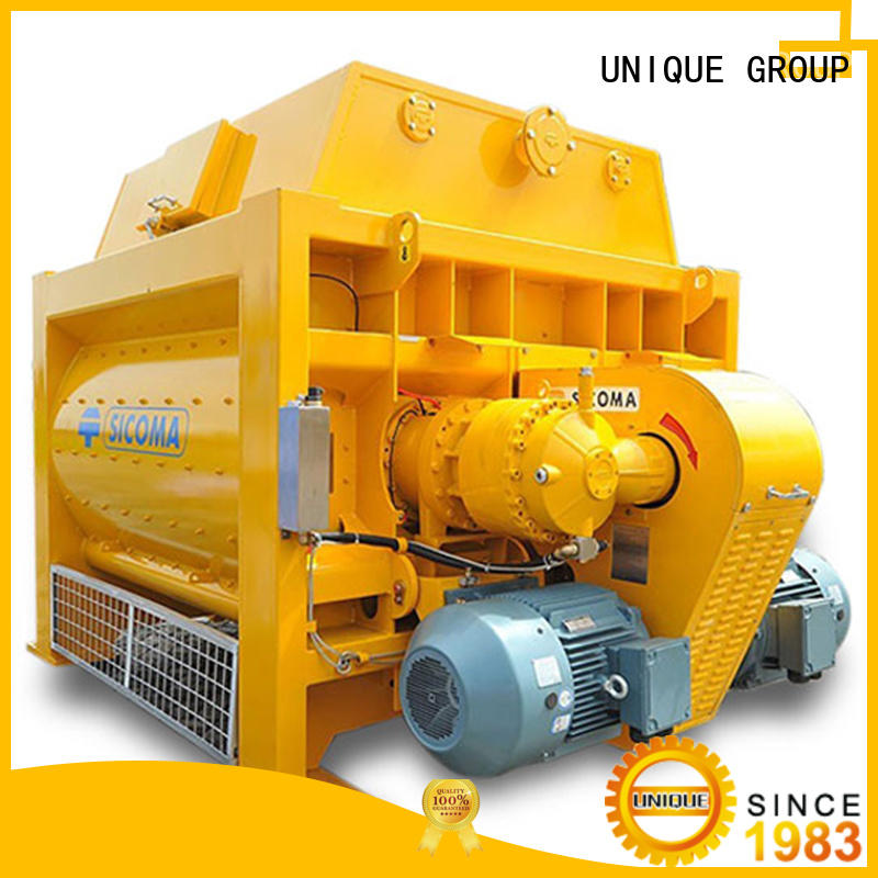 UNIQUE cement batching plant with feeding system for project