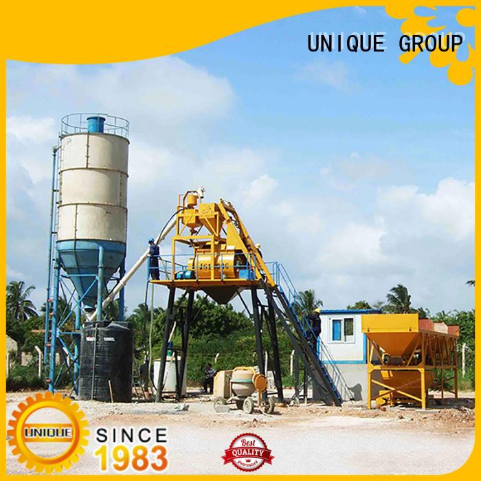 UNIQUE batch mix plant at discount for building