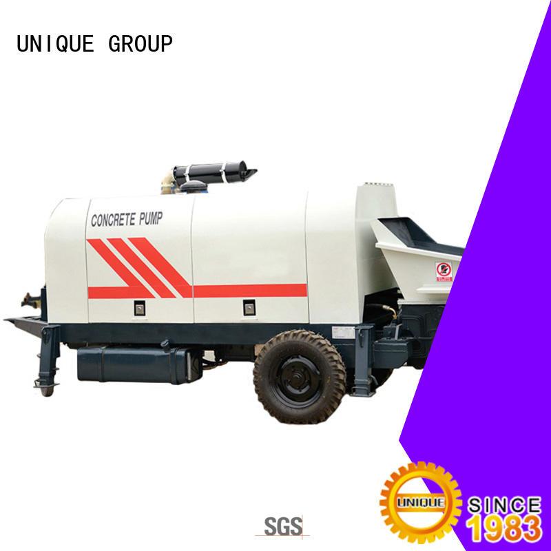 UNIQUE mixer concrete pump machine online for roads