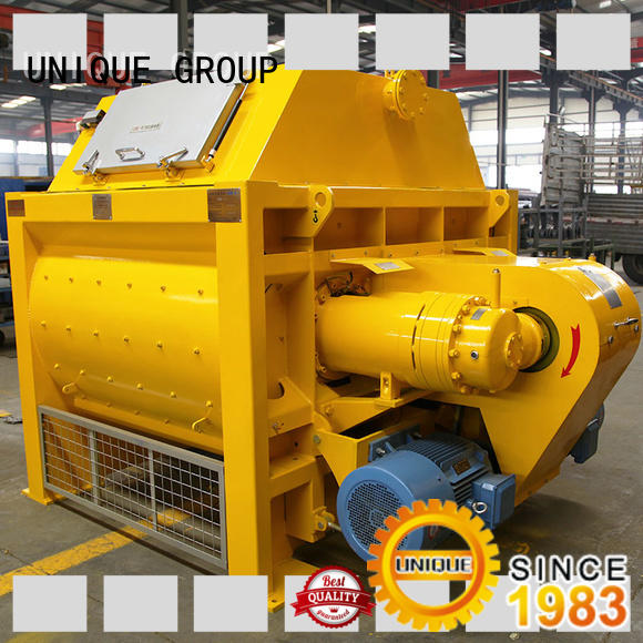 long lasting stationary concrete mixer ready with discharging system