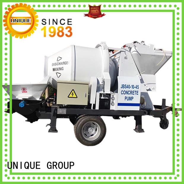 UNIQUE high quality concrete pump machine online for railway tunnels