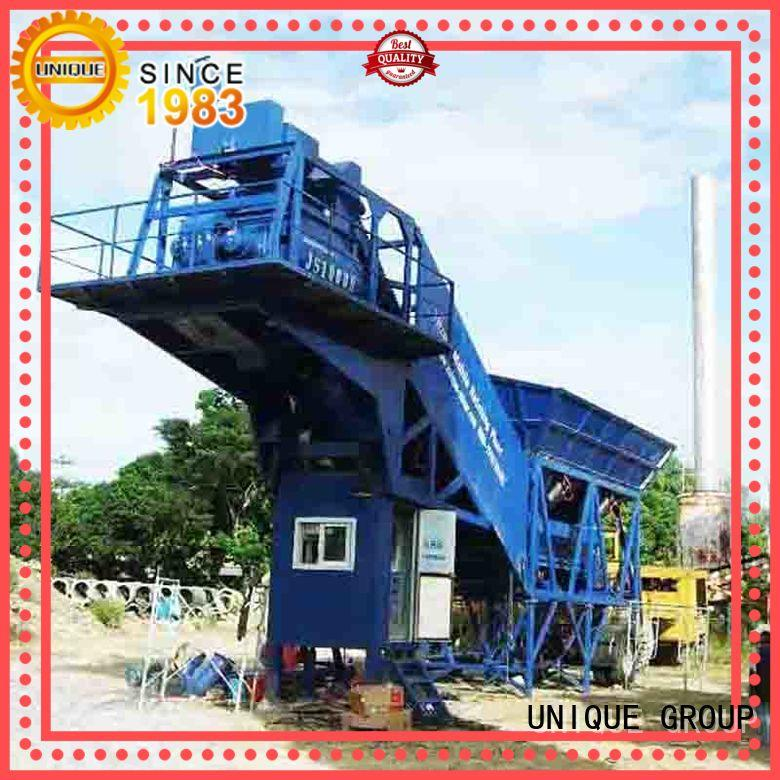 efficient concrete manufacturing plant mix promotion for building