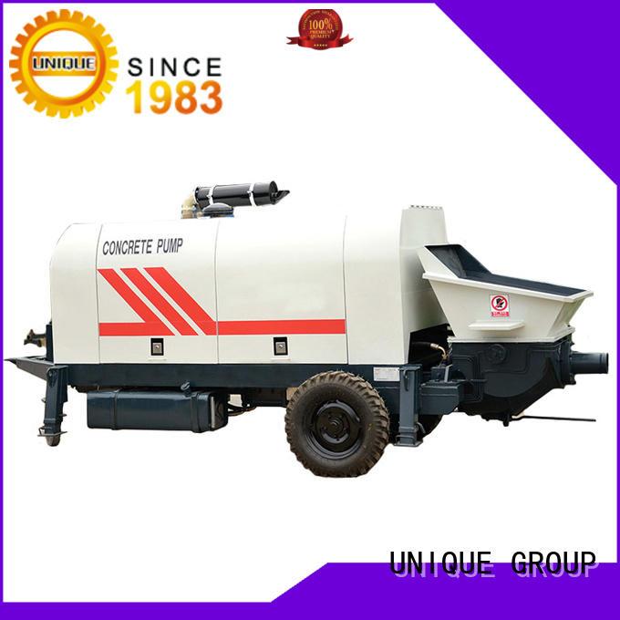 UNIQUE mature concrete pump machine online for water conservancy