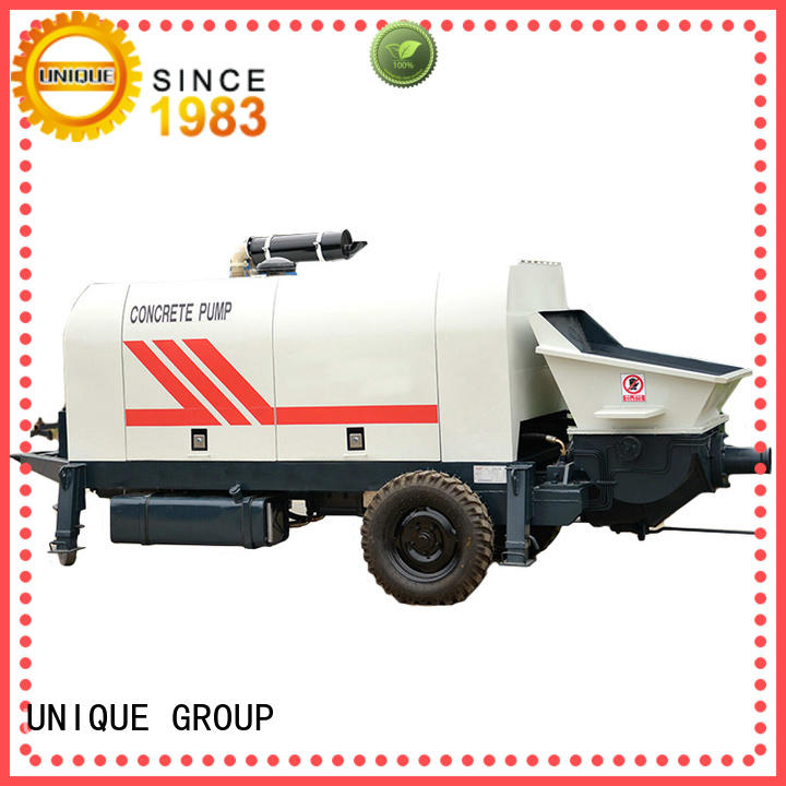 UNIQUE concrete concrete pump manufacturer for water conservancy