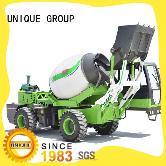 UNIQUE concrete self loading concrete mixer metering