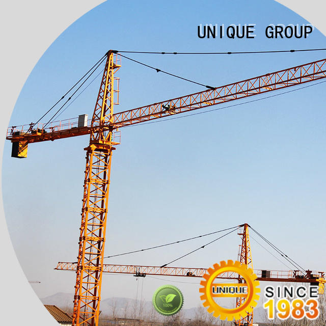 UNIQUE speed-control stationary crane directly sale for buildings