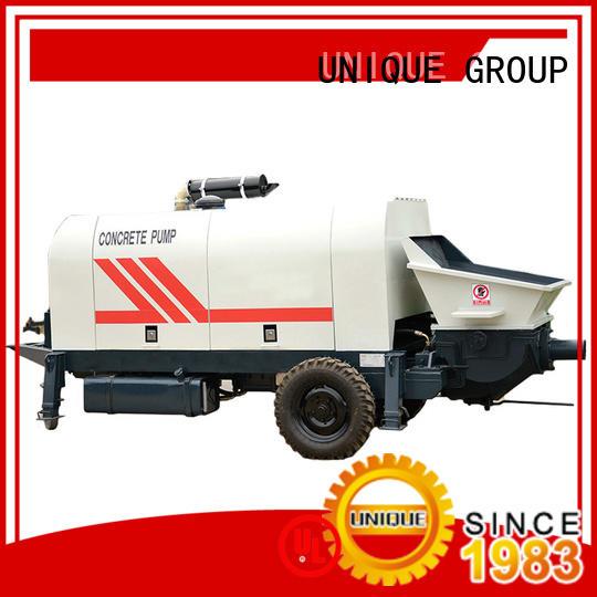 UNIQUE mixer concrete trailer pump online for hydropower engineering