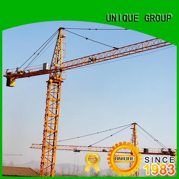 UNIQUE satisfactory building crane manufacturer for hotels