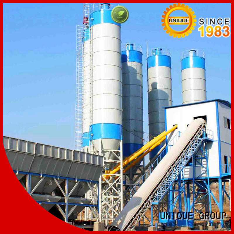 big capacity batch mix plant mix at discount for air port