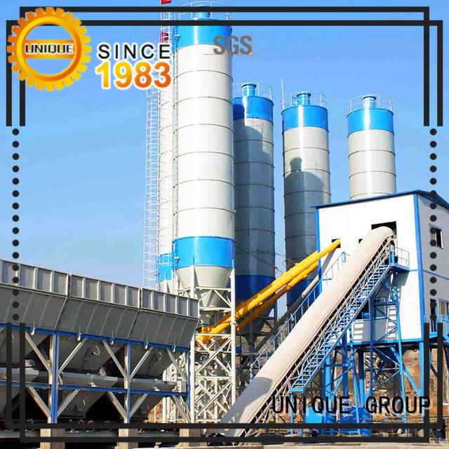 UNIQUE mix concrete manufacturing plant promotion for sea port