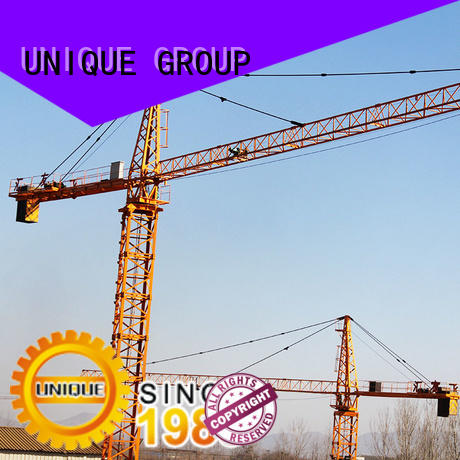 UNIQUE high efficiency crawler crane supplier for hotels