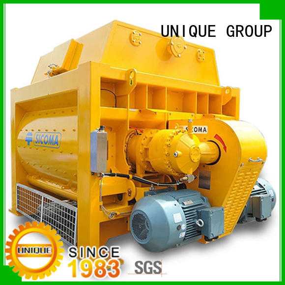 UNIQUE cement mixer equipment with water supply system for hard-dry concrete