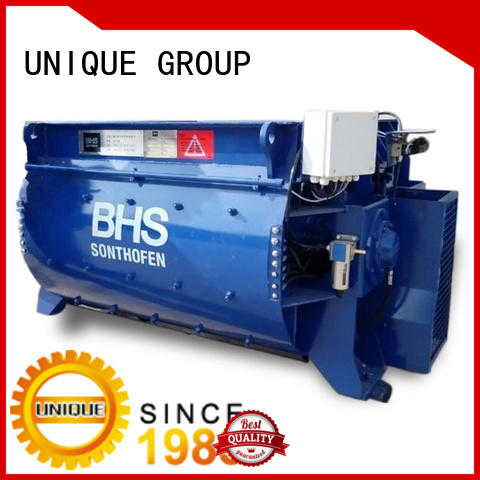 UNIQUE concrete mixer machine with water supply system for concrete products