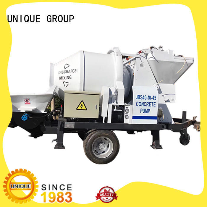 UNIQUE concrete mixer pump manufacturer for hydropower engineering
