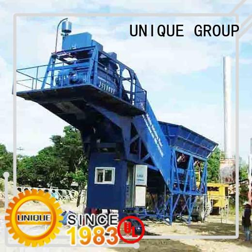 UNIQUE efficient mobile concrete plant manufacturer for bridges