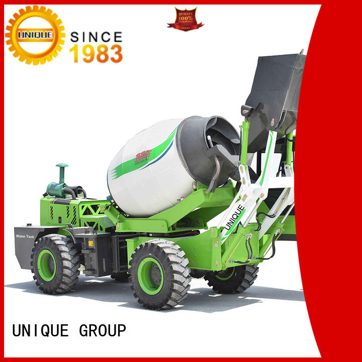 UNIQUE loader concrete batch truck automatic feeding for project