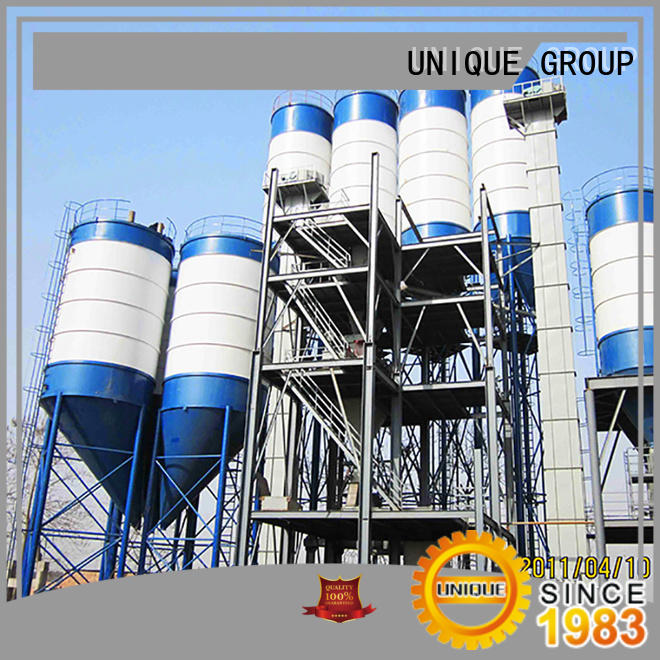 UNIQUE full computer control dry mortar plant environmental protection for mortar