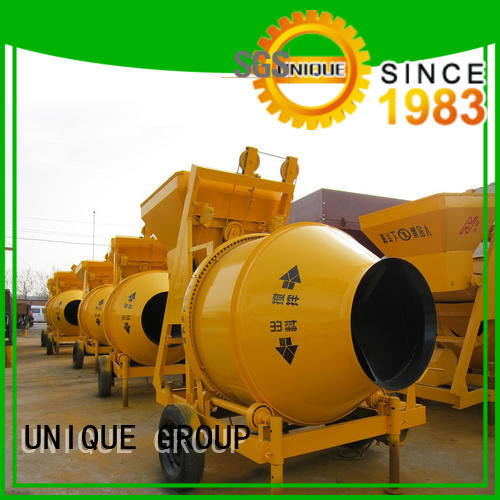 stronger concrete mixers machine with feeding system